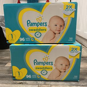 Size 1 Diapers for Sale in Los Angeles, CA