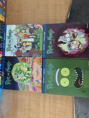 Rick and Morty seasons 1-4 on Blu-ray brand new never used! for Sale in Kissimmee, FL