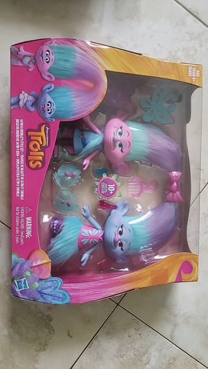 Trolls - Satin & Cheille's Style Set for Sale in Miami, FL
