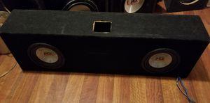Mtx subwoofers + mtx amp for Sale in Denver, CO