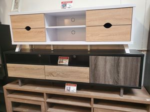 3 Color TV Stand up to 75in TVs for Sale in Santa Ana, CA