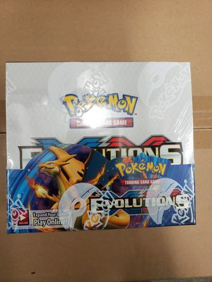 *$450 FIRM, NO TRADES, PICKUP IN CYPRESS* Pokemon XY Evolutions factory sealed box for Sale in Cypress, CA