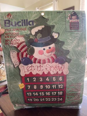 Advent Calendar Kit for Sale in Naperville, IL