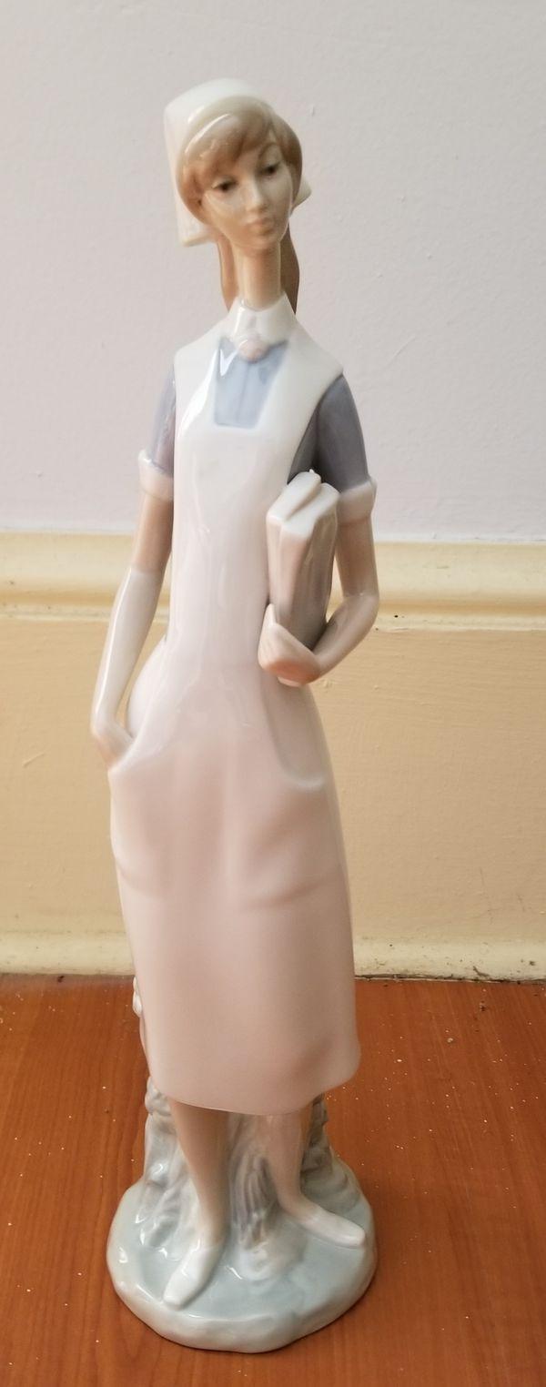 Lladro nurse figurine