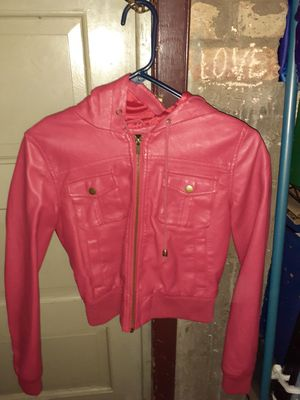 Red hoodie Leather jackets for Sale in Chicago, IL