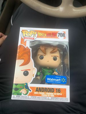 Funko pop android 16 metallic Walmart exclusive MINT dragon ball z for Sale in Hammond, IN
