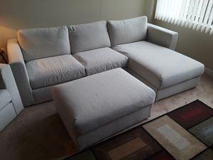 IKEA couch, chair & ottoman for Sale in Alexandria, VA