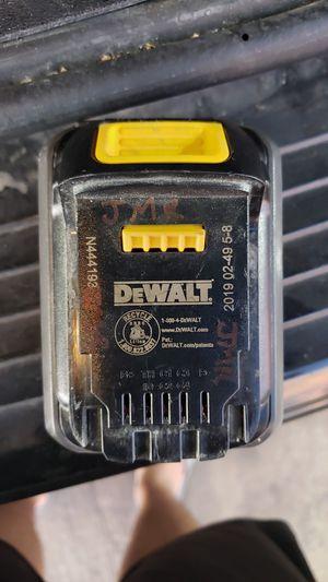 Dewalt flex volt 60v battery for Sale in San Antonio, TX