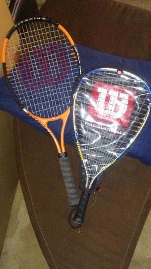 2 WILSON BALL RACKETS for Sale in Norman, OK