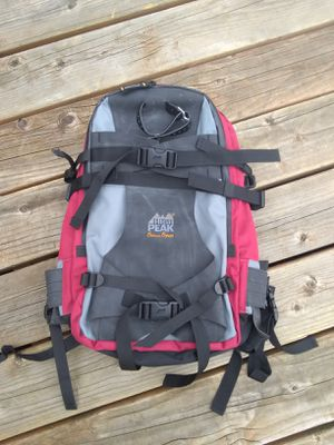 HIGH PEAK ★ SKI SNOWBOARD BACKCOUNTRY BACKPACK with BACK SUPPORT • BRAND NEW for Sale in SeaTac, WA