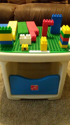 Step 2 Lego table for Sale in Clovis, CA
