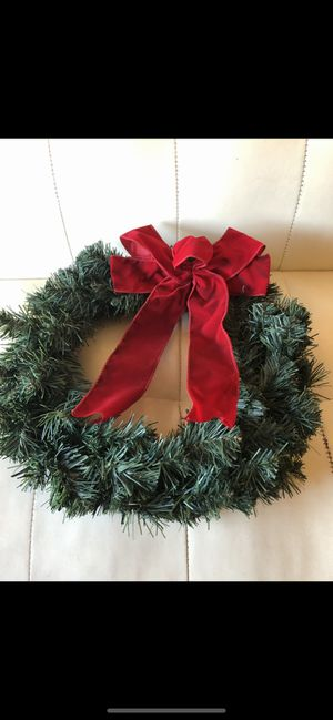 "20"" wreath $15/ trade for Sale in Los Angeles, CA"