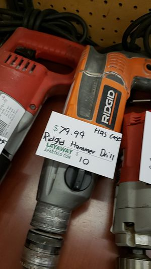 Ridgid Hammer Drill for Sale in Chicago, IL