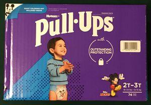 Huggies Boys Pull-Ups Training Pants 2T-3T (74 ct)d for Sale in Atlanta, GA