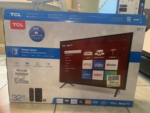 "Roku smart tv tcl 32"" for Sale in Orlando, FL"