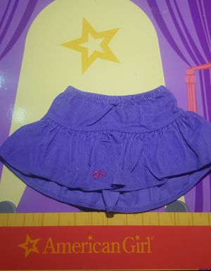 American Girl doll bitty baby corduroy purple skit for Sale in Mansfield, TX