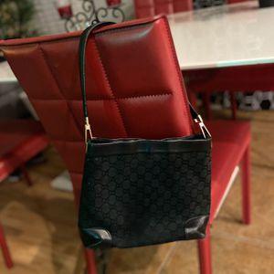 Gucci Black Monogram Leather Vintage Shoulder Bag for Sale in Chandler, AZ