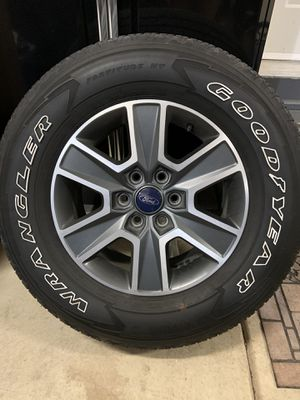Ford F-150 Tires/Rims Set of 4 for Sale in Johnsburg, IL