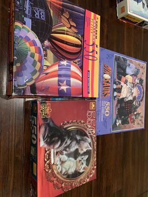 550pc puzzles for Sale in Stockton, CA