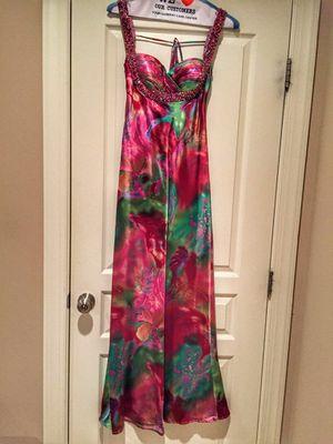 Fabiana Filippi Floral Beaded Prom Dress Size 4 for Sale for sale  Mechanicsville, VA