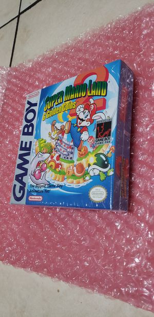 Factory sealed mario land 2 first print for Sale in Fort Lauderdale, FL