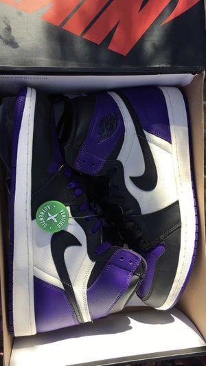 Jordan 1 Court Purple for Sale in Alexandria, VA