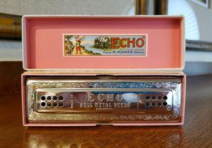 Vintage Hohner 56 CG Echo Tremolo Harmonica VGC for Sale in Goodyear, AZ