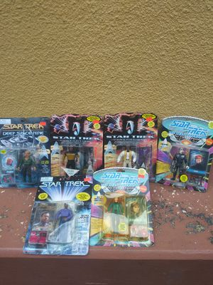90s Star Trek figures all in original packaging, Brand New never opened for Sale in Miami, FL