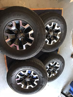 Tacoma trd off-road wheels for Sale in St. Petersburg, FL