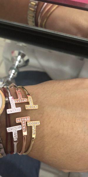Tiffany rhinestone bangles for Sale in Miami, FL