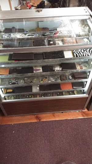 Rotating lite up display case for Sale in Dickinson, ND
