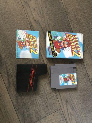 Super Mario Bros 2 Nintendo NES Game Complete in Box for Sale in Corona, CA