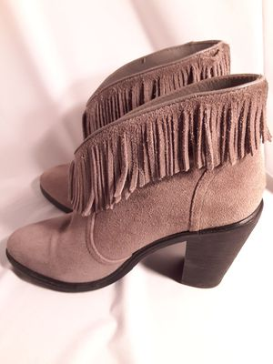 Like new Joie suede fringe boots for Sale in Chino, CA