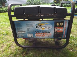 10 Hp 6000w runs good $175 cash for Sale in Tacoma, WA