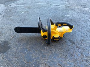 Dewalt 20V cordless 12in chainsaw tool only for Sale in Garden Grove, CA