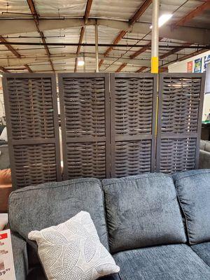 4 Panel Room Divider / Shoji Screen, Black for Sale in Santa Ana, CA