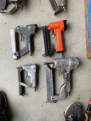 Four nail guns for Sale in Oceanside, CA
