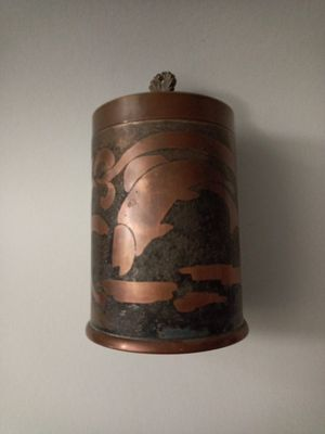 Silver and Bronze Fish design canister for Sale in Sacramento, CA
