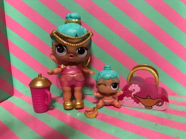 Lol Doll Series 2 Genie and lil genie