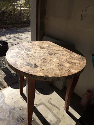Stone Topped Pub Height Table! for Sale in Richmond, VA