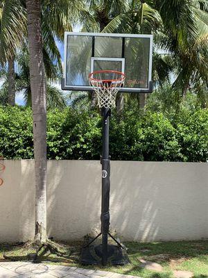 Elite pro basketball hoop for Sale in Fort Lauderdale, FL