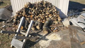 Seasoned fire wood,cut /split ready for that summer time fire pit 70$a truck load ,will deliver for a fee. for Sale in Bernville, PA