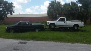7' x 20' Flat bed trailer for hauling cars for Sale in Tampa, FL