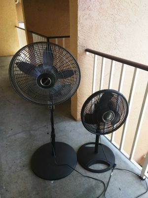 Galaxi and Lasko brand fans for Sale in Fort Myers, FL