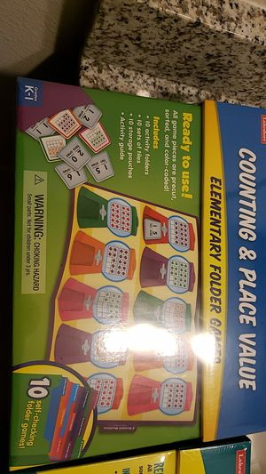 Folder games for preschoolers and autistic kids for Sale in Orlando, FL