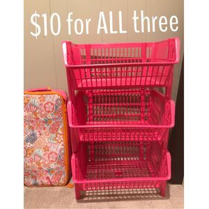 Stackable Toy Bins for Sale in Silver Spring, MD
