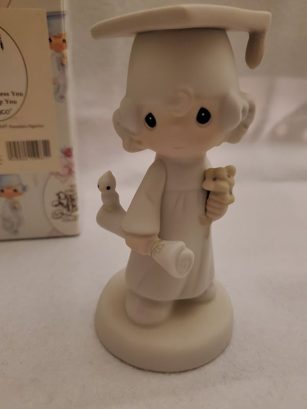 """1980 Vintage Precious Moments E-4721 """"The Lord Bless You and Keep You"""" w/ Box"""