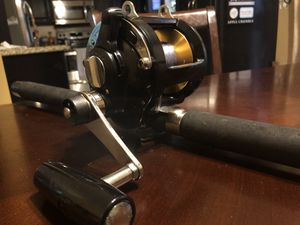 """Penn Formula 10 KG 2 speed reel with Penn 6'6"""" Californian Med Heavy Action fishing rod for Sale in Chula Vista, CA"""