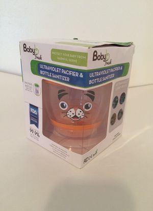 UV sanitizer for baby bottle, pacifier, sippy cup, and teething toys Tiger for Sale in Manassas, VA