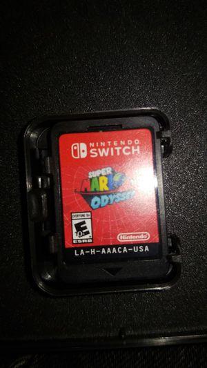 Super Mario Odyssey Nintendo Switch for Sale in Woodbridge, VA